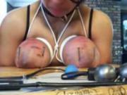 Heavy nailing of tied tits