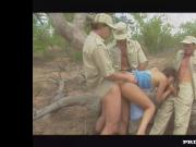 Diana, Outdoor Ganbang in the Kruger Park...