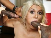 Layla Price Double Penetrated by Big Black Cocks