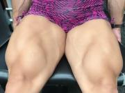 woman muscle huge tits femdom angry alpha lady giant butt