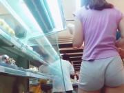 gray shorts vpl