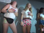 Real teens strip down