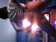 Danse de la salope gabonaise de 18 ans