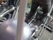 Gym booty milf