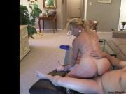 Anal Dirty Blonde Mature Bubble Butt MILF