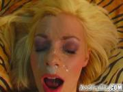 Ass Traffic Vanilla gets her anal cherry popped by a big