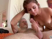 Ariana Grand seducing her horny stepdad