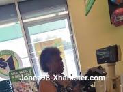 Black granny upskirt Pt 1