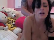 Webcam Wonder Its Cleo Blows & Bangs Dude In Her Dorm Room!
