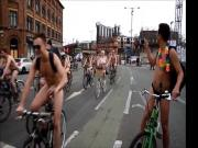 Big Tits Naked Bike Ride