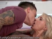 LustyGrandmas Mature Cougar Takes That Dick!