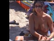 amazing girl on greek Beach