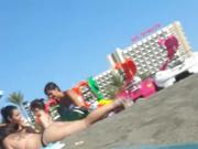 Embarazada en la Playa