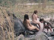 Miranda Otto, Sonja Richter, Grace Gummo - The Homesman