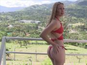 Luisa Henano Red Bikiny