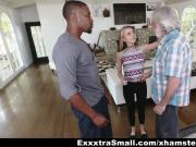ExxtraSmall - Tiny Teen Alina West Sucks Huge Cock To Pay De