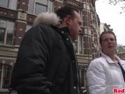 Bigtitted amsterdam hooker gets cumshowered