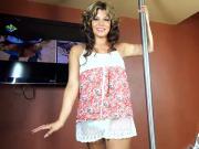 Hung Shemale Naomi Chi dancing