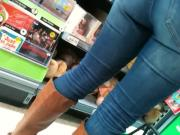 SDRUWS2 - Panty thong at supermarket 2