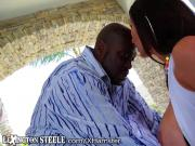 Kendra Lust on Lexington Steele's HUGE Black Cock