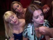 Horny ladies go crazy for cock