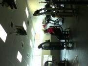 gym flash caught