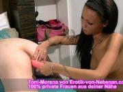 Deutsche latina Teen Spregt Rosette von ECHTEM USER