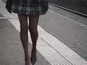 Sexy girl with great legs