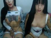 Sophia & Sara hot showcam