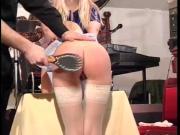 spank nurse in latex