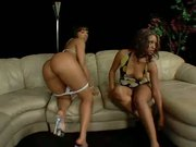 Ebony 3some