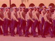 Marine with Tats