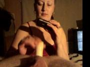 vibrator fuck from wife