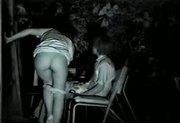 flagra casal na varanda fazendo sexo real