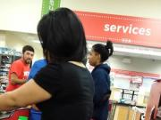 Big Booty Mamacita In Checkout Line