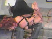 BDSM Spank Redhead.