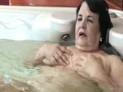 Granny in the Bath Gets a Helping Hand