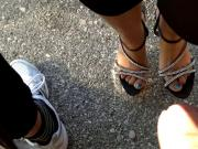 SHOEJOB, CUMSHOT FEET AND SHOES