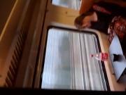 Jerking off in public transport 8