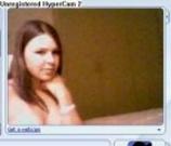 Beautful teen chick chatting