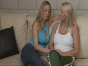 Beautiful Blonde Lesbians Make Passionate Love - Juliana & Anita