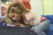 Teen blonde white girl with black guy - Interracial (p.1)