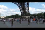 Public - public sex by Eiffel Tower the world landmark