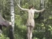 Russian woman suffers