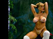 Danni Ashe Does A Nice Striptease Of Her Schoolgirl Outfit