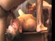 3 guys fuck hard from Hammerboys TV