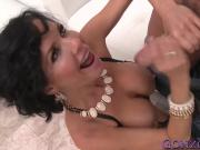 Big ass MILF Veronica Avluv bounces on hard cock like a pro