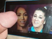 Sasha Banks & Bayley Double Tribute!