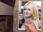 Dakota Fanning Cum Tribute 016