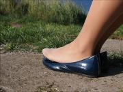 pantyhosed feet
